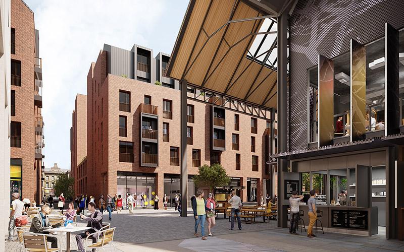Crompton Place centre